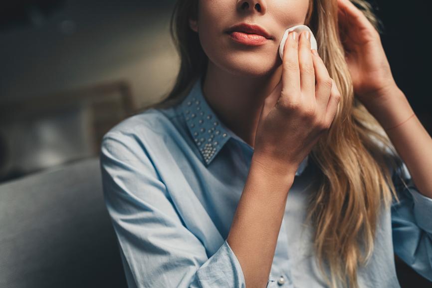 period acne