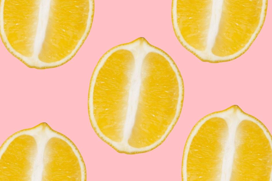 Вагина и лимон