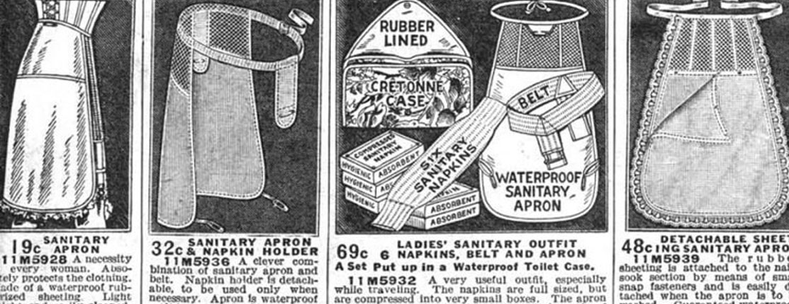 history of period products